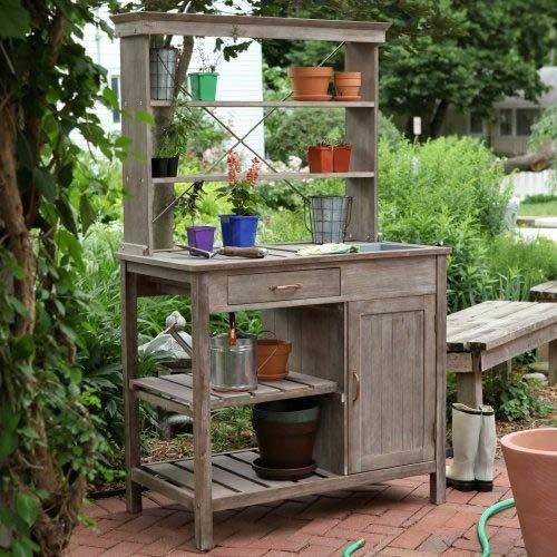 ספסל עץ עם אחסון- סוף לבעיות במקום